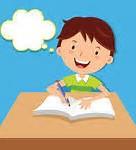 enfant écrivant