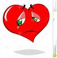 coeur triste