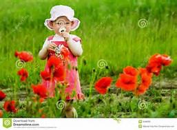 enfant fleur