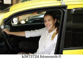femme taxi