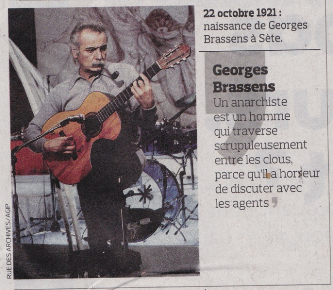 Brassens un anarchiste