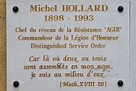 Hollard plaque