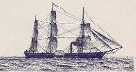Savannah 1er bateau à vapeur