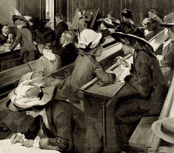 bachelières 1911