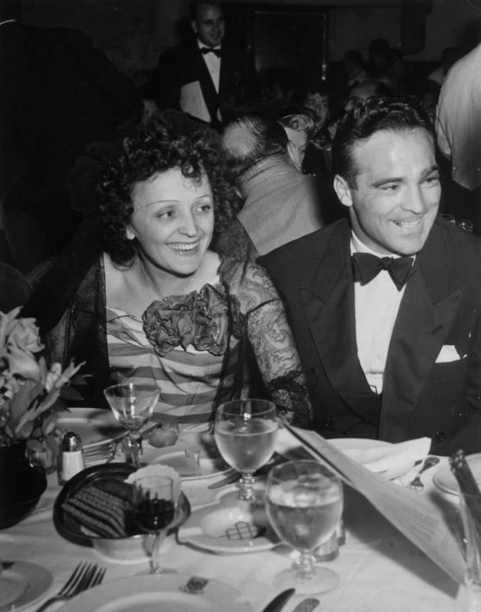 Piaf Cerdan 1948