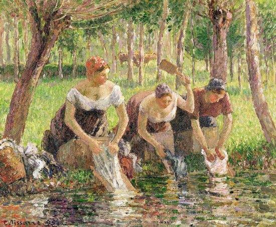 Lavandieres-Pissarro