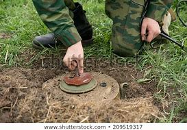 mine militaire