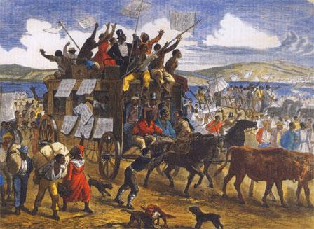 Esclaves après amendement