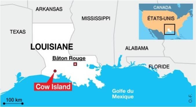 Louisiane carte
