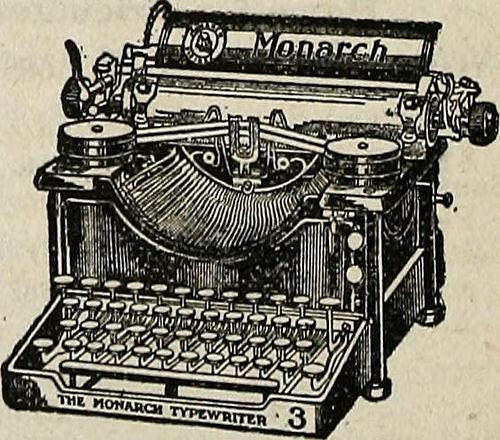 1ère machine à écrire